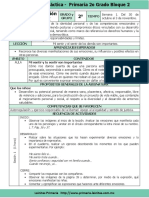 Plan 2do Grado - Bloque 2 Formación C y E (2017-2018)