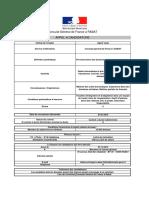 Cg Rabat - Appel a Candidature - Agent Visas