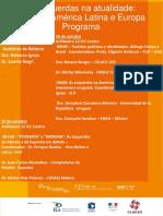 As Esquerdas Na Atualidade_Programa