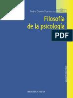 Chacón-Fuertes, P. [Ed.] (2009). Filosofía de La Psicología. Madrid, España. Biblioteca Nueva