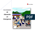 Curriculo Educacion en Emergencias