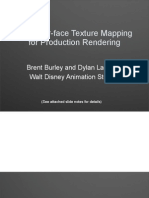 Brent Burley and Dylan Lacewell Walt Disney Animation StudiosPtex Slides