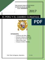 El Peru y El Cambio Climatico