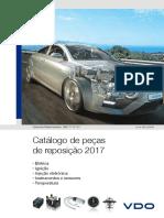 Catálogo Vdo 2017