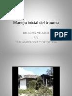 MANEJO INICIAL DEL TRAUMA