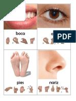 Figuras en Lenguaje de Señas