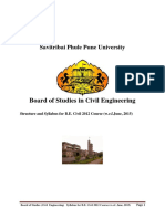 I II Sem BE Civil 2012 Course 2015-21-12 Syllabus