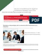Ventajas y Desventajas de La Comunicación Horizontal en Tu Empresa