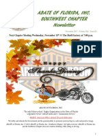 Southwest Chapter of ABATE of Florida November 2017