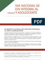 El Sistema Nacional de Atencion Integral Al Niño