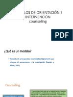 Modelos de Orientación Counseling