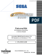 Virtua Striker 2002 [Kit Installation & Service] [English]