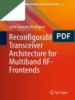 (Smart Sensors, Measurement and Instrumentation 17) Erick Gonzalez Rodriguez (Auth.)-Reconfigurable Transceiver Architecture for Multiband RF-Frontends-Springer International Publishing (2016)