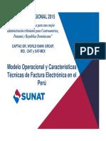 Presentación Factura Electrónica SUNAT - Seminario de FE 22-08-2015