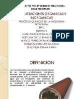 INCRUSTACIONES RN TUBERÍA DE PERFORACIÓN
