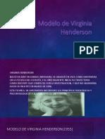 Modelo de Virginia Henderson