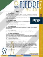 Reglamento y Ficha de Inscripcion