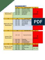 Cronograma Alianzas 2017