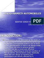 Aerodynamics Automobiles