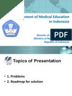 Development of Medical Education