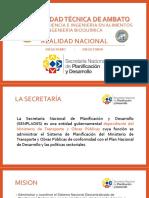 Secretaria Nacional Ecuador