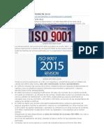 Nueva Iso 9001 Version
