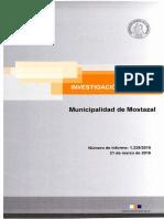 Contrato Honoraio sin licitación INFORME INVESTIGACIÓN ESPECIAL 1229 - 15 MUNICIPALIDAD DE MOSTAZAL-MARZO 2016.pdf