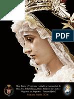 Boletín 2016 Hermandad de la Soledad. Porcuna