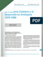 Arango y Lotero - Industria Cafetera y Desarrollo Antioquia