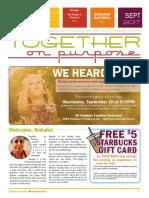 together on purpose newsletter september 2017
