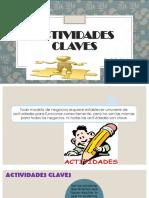 Activiades Claves. Exponer