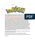 Qué Está Detrás de Pokemon Go