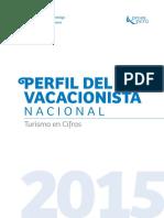 Perfil Del Vacacionista Nacional 2015