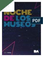 Mapa de la Noche de los Museos
