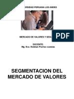 Diapositivas de Mercado de Valores Segmentación Del Mercado de Valores p 4 4