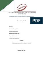 Informe Etapas de Auditoria y Caso