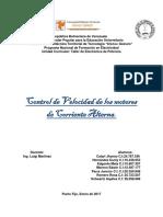 República Bolivariana de Venezuela. Control de Velocidad de los Motores A.C.docx