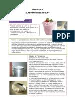 Elab. de Yogurt