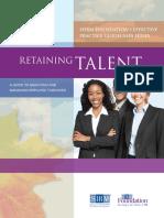 Retaining Talent