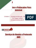 Unidade III - Camada de Aplicação - Parte II - DNS.pdf