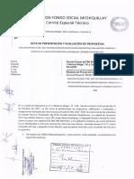 Acta Presentacion y Evaluacion