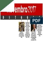 Calendário Negro - Novembro 2017