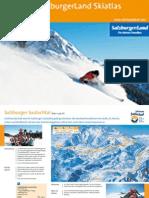 Salzburgerland Skiatlas 2