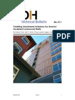 Cladding Attachment Solutions