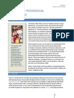 Erikson & Psycho-Social Development