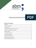 Nouveau Guide Doctorant 2016