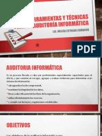Herramientas y Técnicas para auditoria informatica