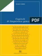 Capitoli di linguistica generale