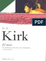 Kirk G S - El Mito