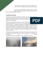 La Contaminacion Del Planeta Tierra